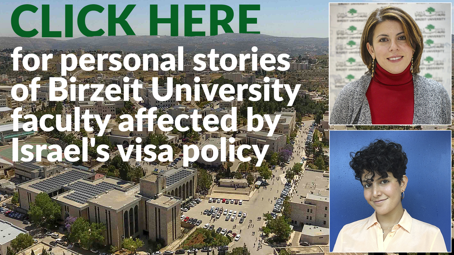 Israel forcing international lecturers out of West Bank ...