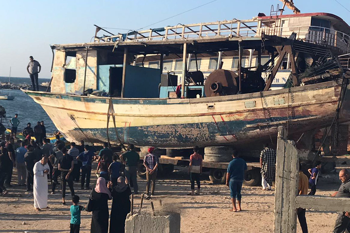 Following legal action, Israel returns boat to Gaza